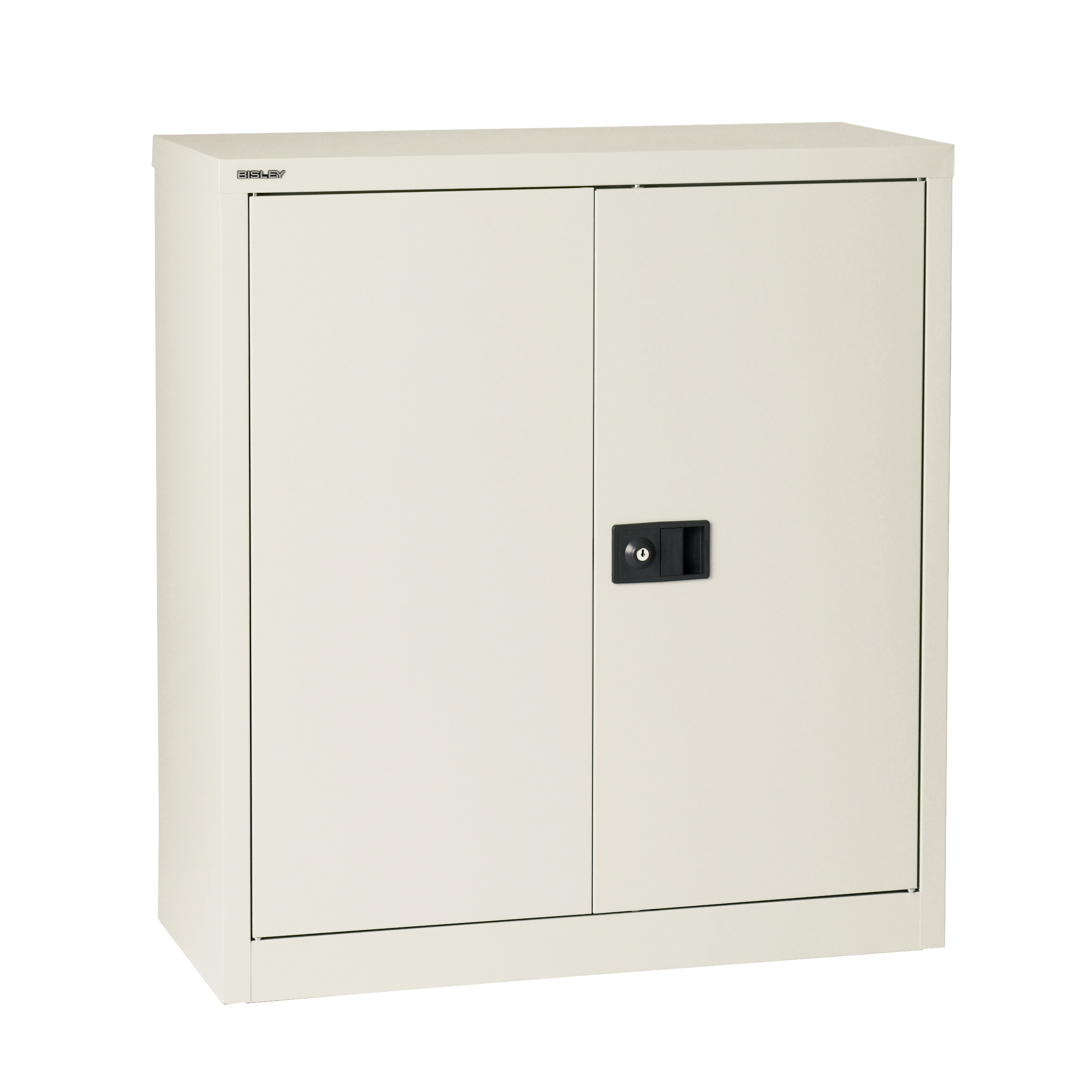Storage cabinets Trexus Stationery Cupboard 1 Shelf 914x400x1000mm Chalk White Ref E402A01-ab9