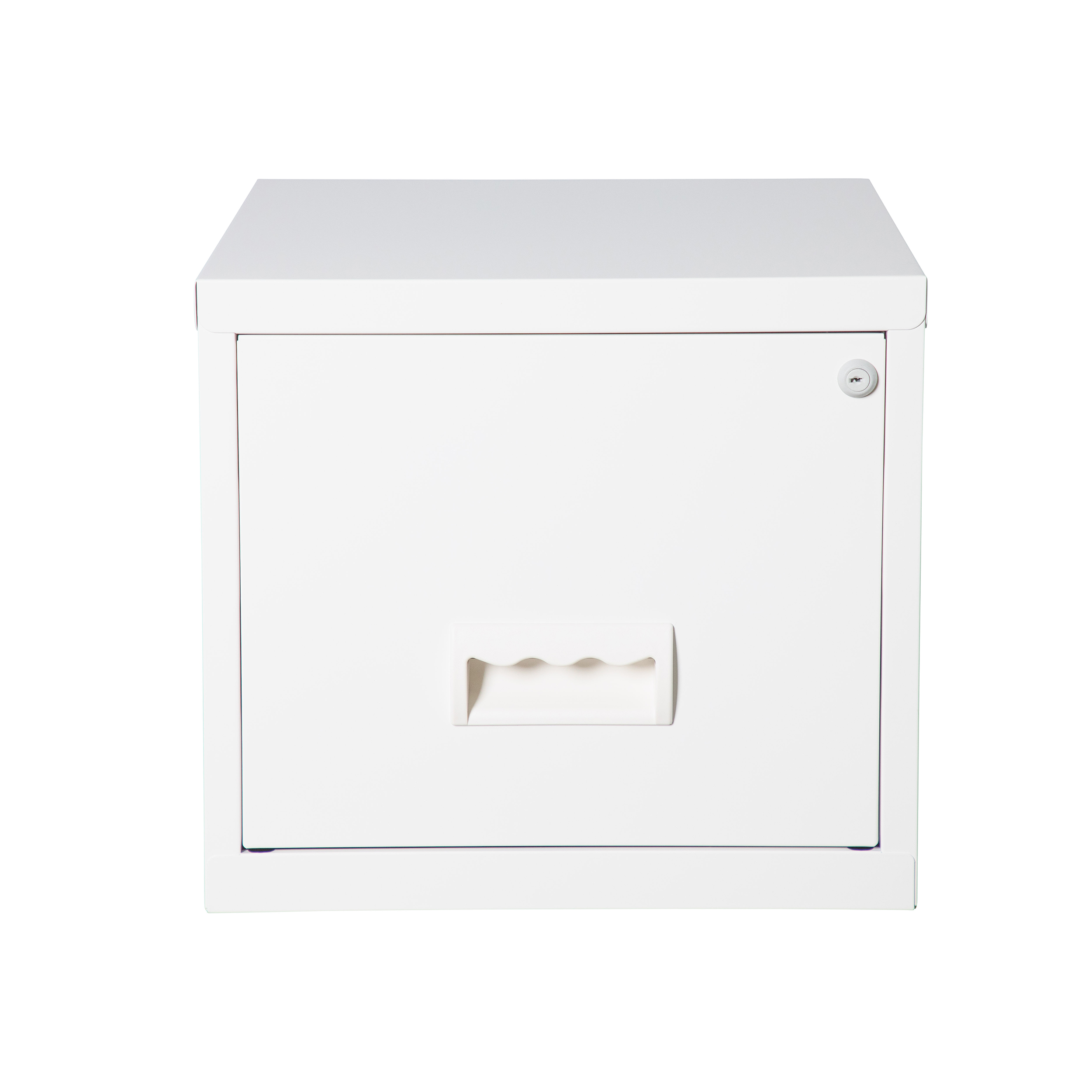 Filing cabinets or accesories Pierre Henry Maxi Filing Cabinet 1 Drawer A4 White Ref 099020