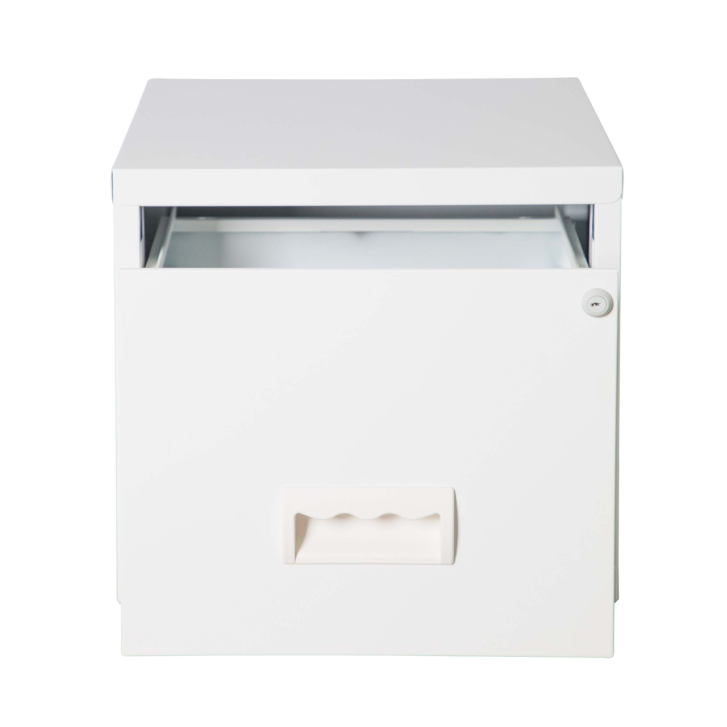 Pierre Henry Maxi Filing Cabinet 1 Drawer A4 White Ref 099020
