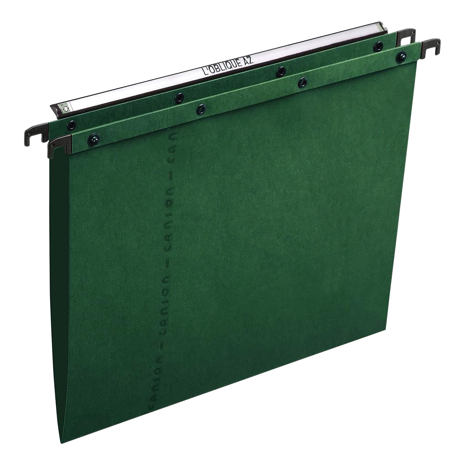 Elba AZO Ultimate Linking Suspension File 15mm V-base 240gsm Foolscap Green Ref 100330318 [Pack 25]