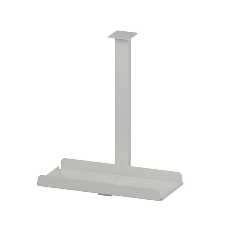 CPU stand Trexus Pc Holder Desk Mounted White Ref BE045