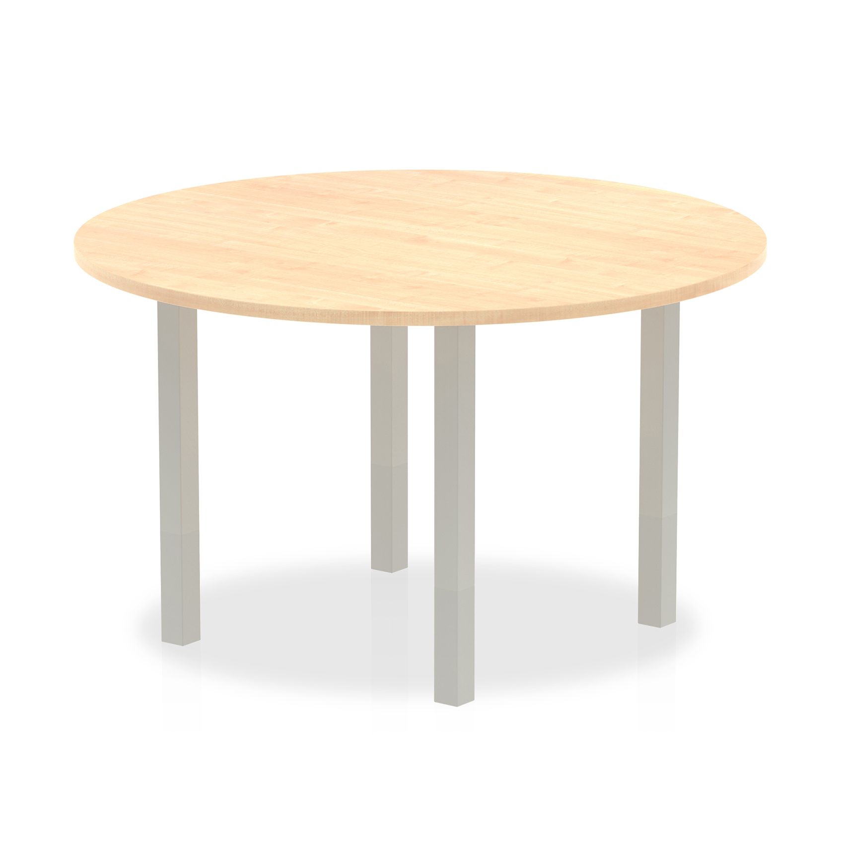 Trexus Meeting Table Round 1200mm Maple Ref I000260