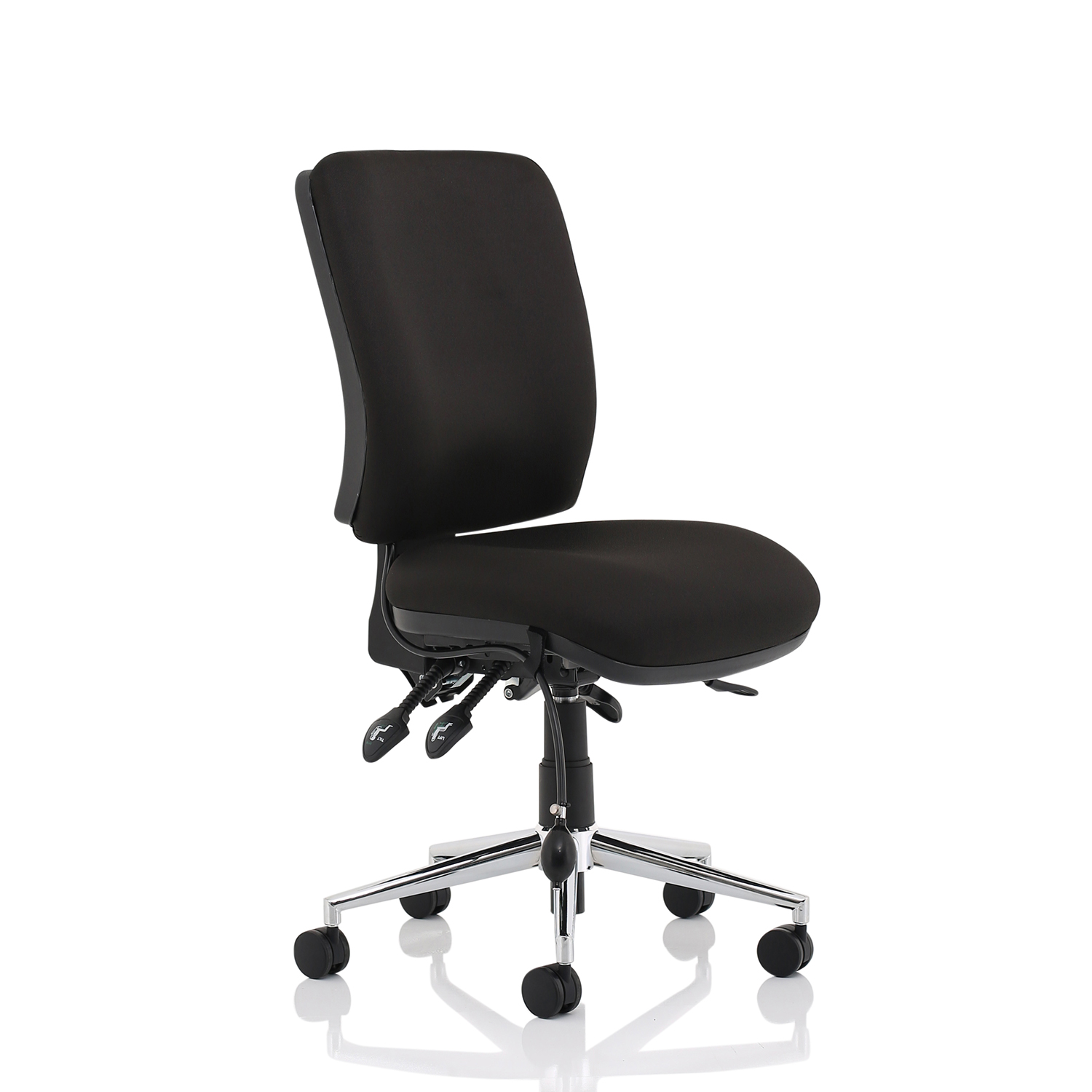 Task seating Sonix Chiro Medium Back No Arms Black Ref OP000247