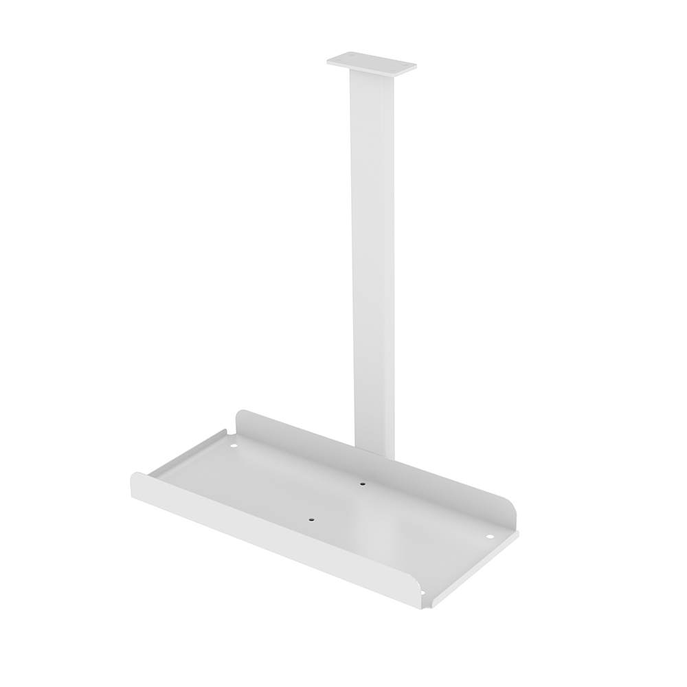 CPU stand Trexus Pc Holder Desk Mounted Silver Ref BE046