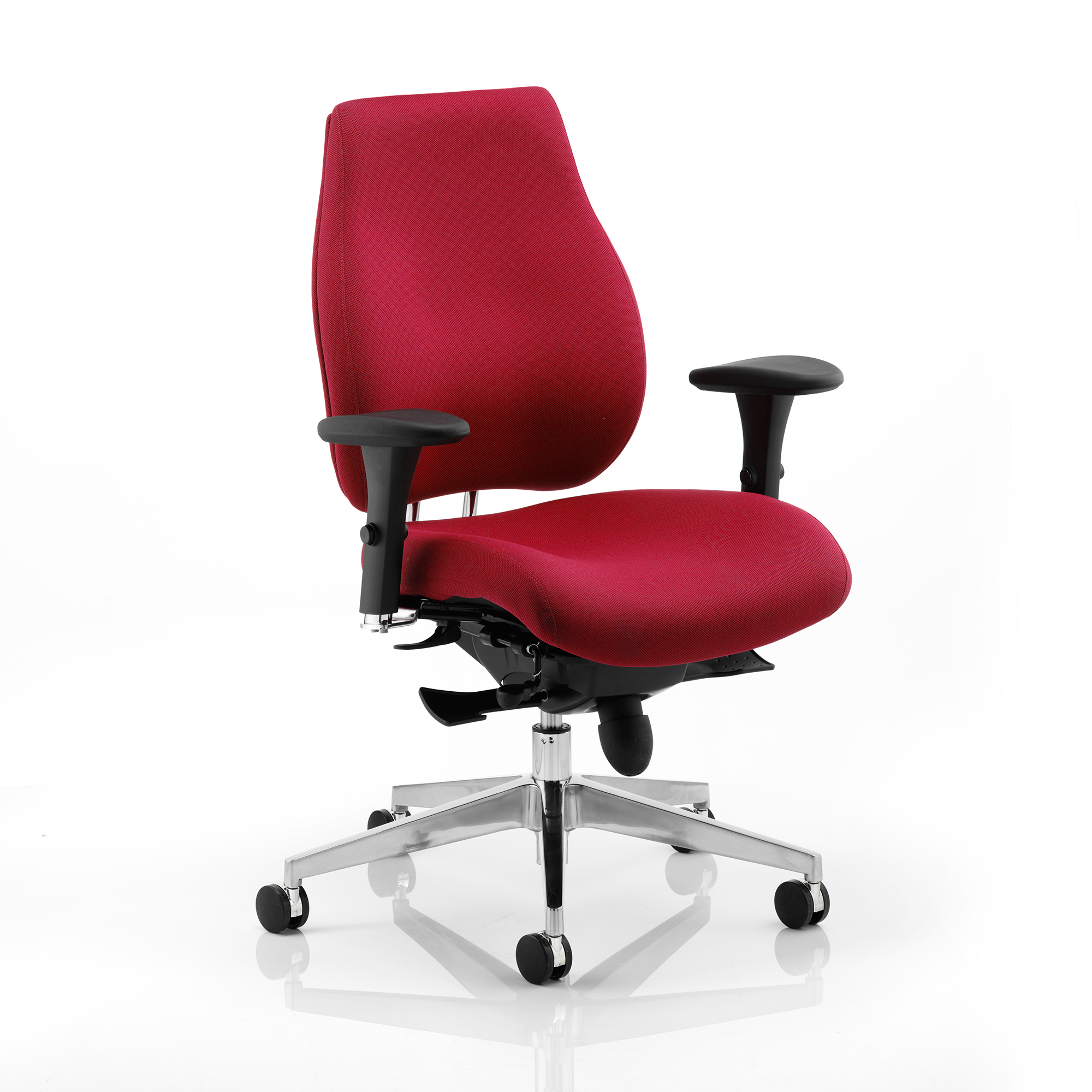 Task seating Sonix Chiro Plus Ergo Posture Chair With Arms Wine Ref PO000018