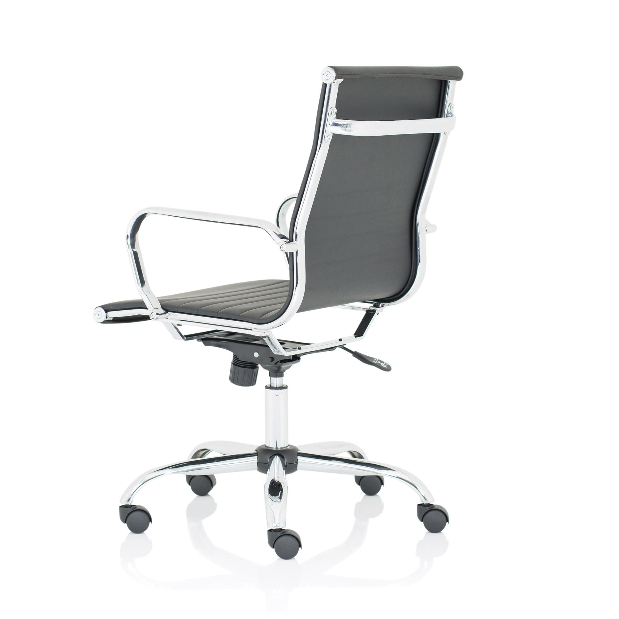 Trexus Nola Medium Executive Chair Bonded Leather Black Ref OP000225