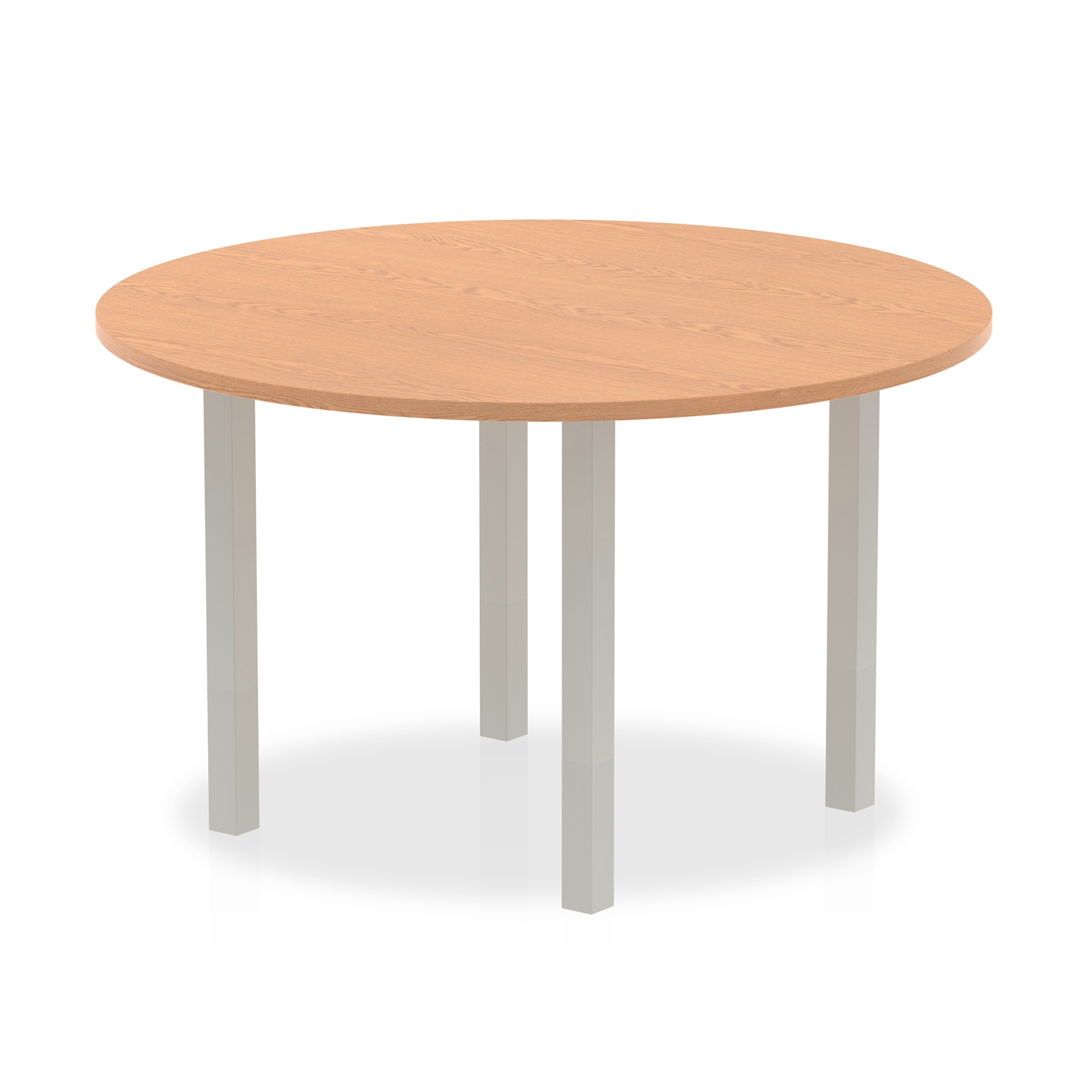 Trexus Meeting Table Round 1200mmOak Ref I000788