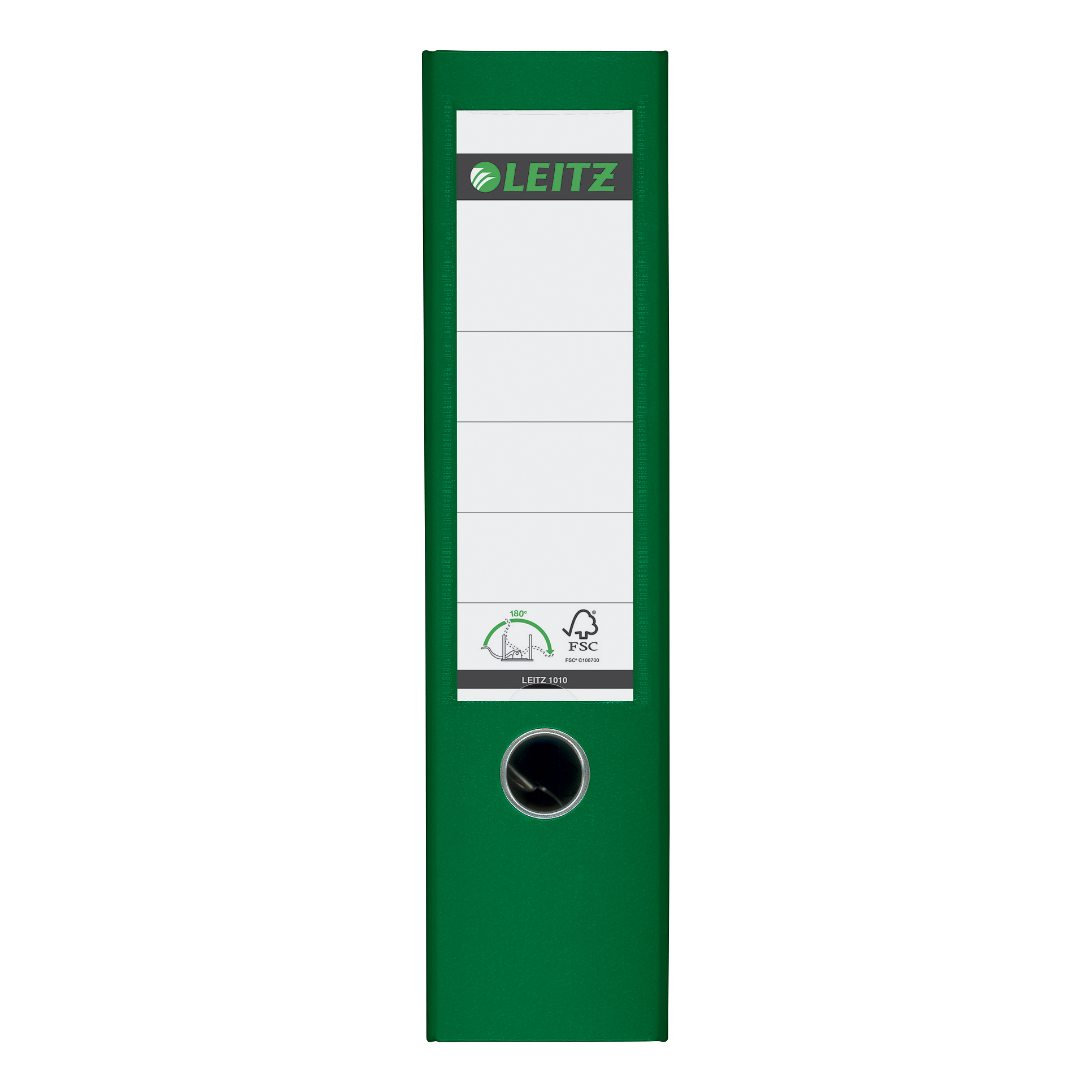Leitz Lever Arch File Plastic 80mm Spine A4 Green Ref 10101055 Pack 10