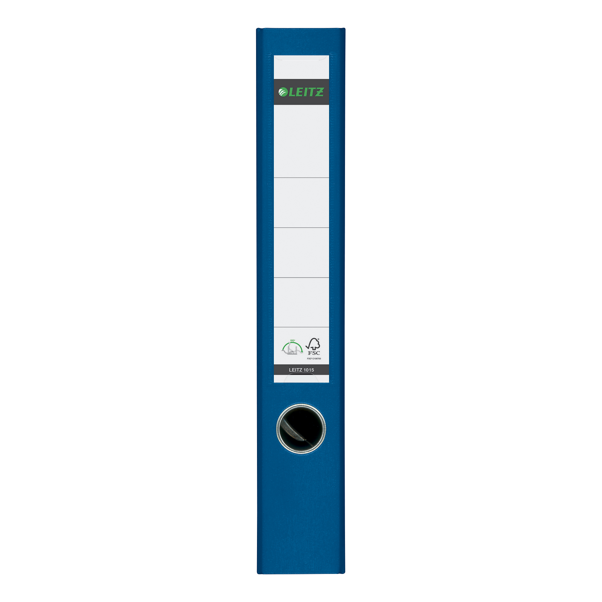 Leitz Mini Lever Arch File Plastic 50mm Spine A4 Blue Ref 10151035 [Pack 10]