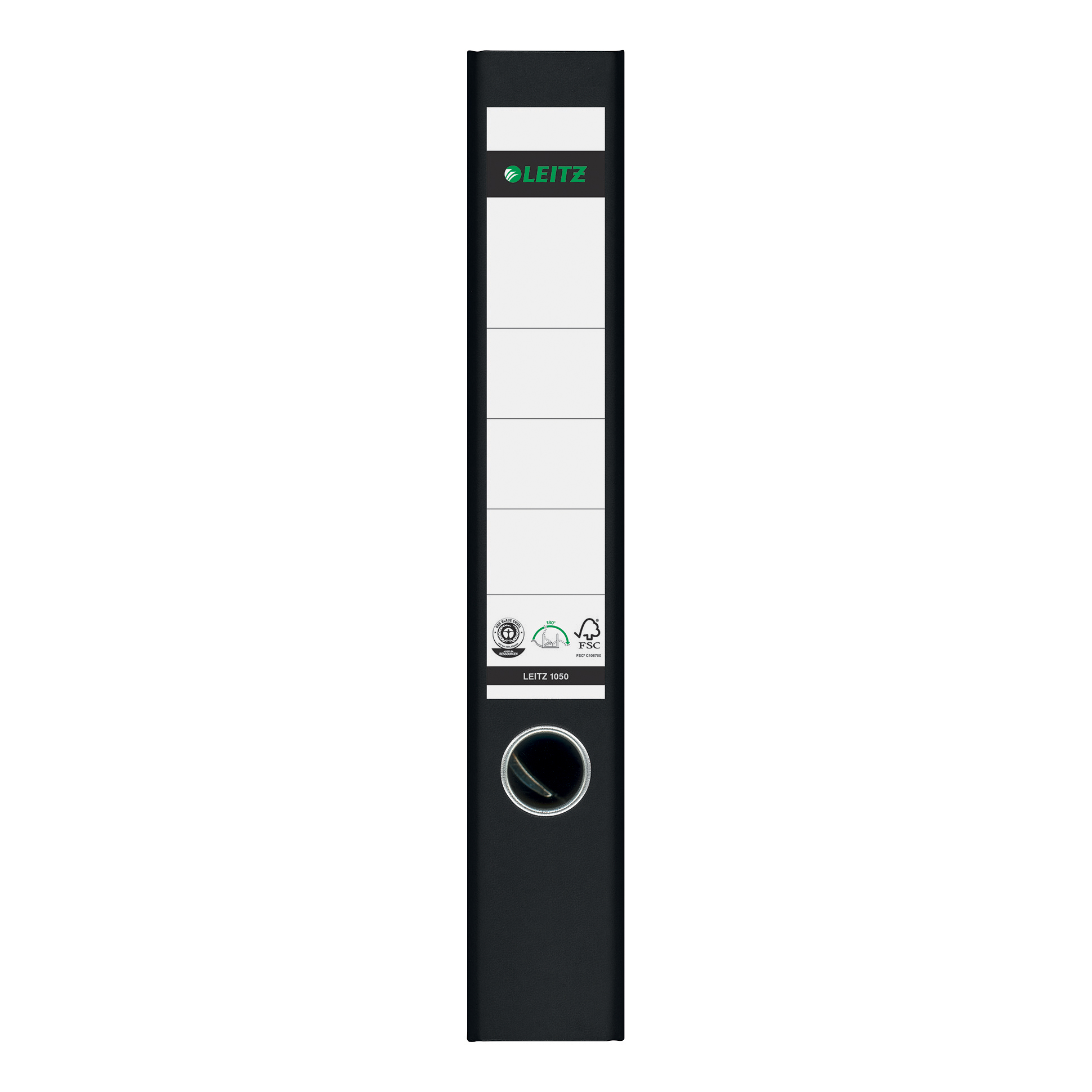 Leitz FSC Standard Mini Lever Arch File 52mm Spine A4 Black Ref 10501095 [Pack 10]