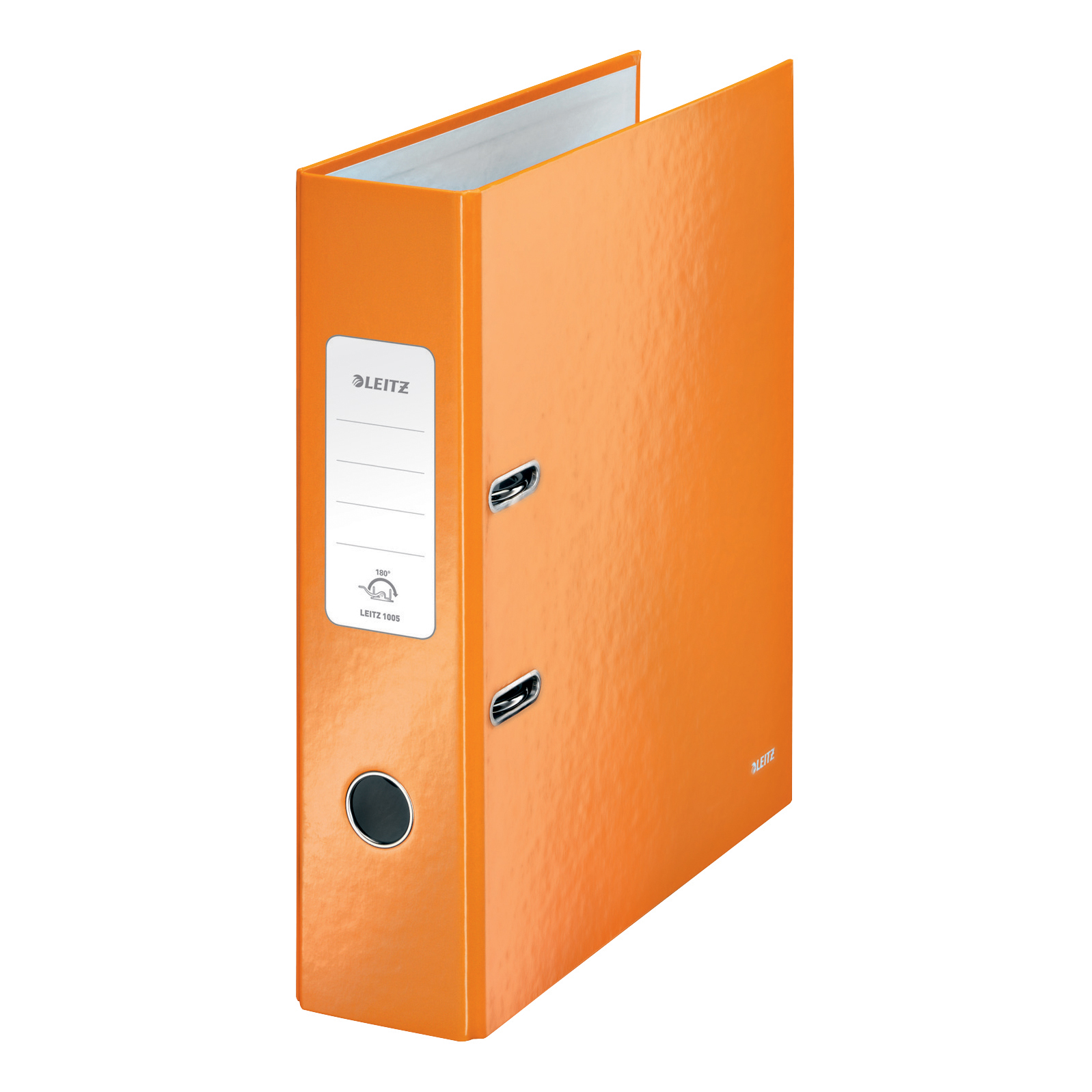 Leitz WOW Lever Arch File 80mm Spine for 600 Sheets A4 Orange Ref 10050044 Pack 10 REDEMPTION