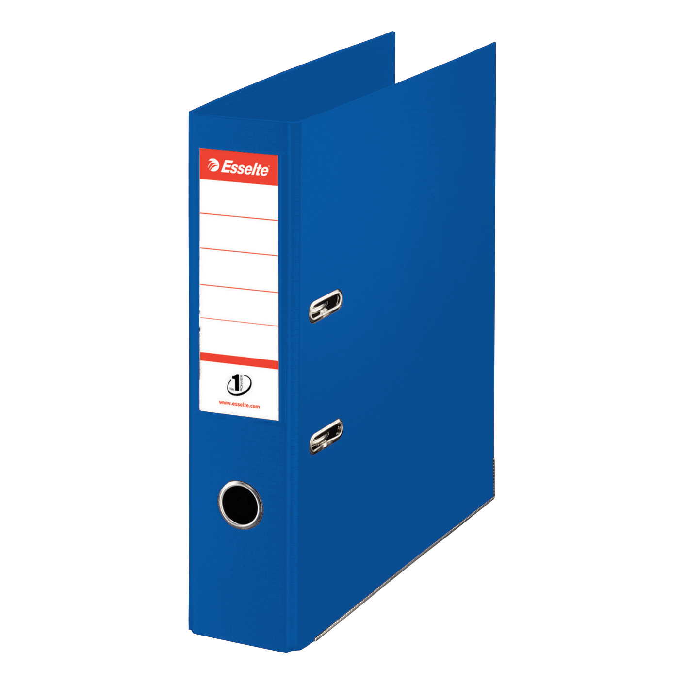 Esselte No. 1 Power Mini Lever Arch File PP Slotted 50mm Spine A4 Blue Ref 811450 [Pack 10]