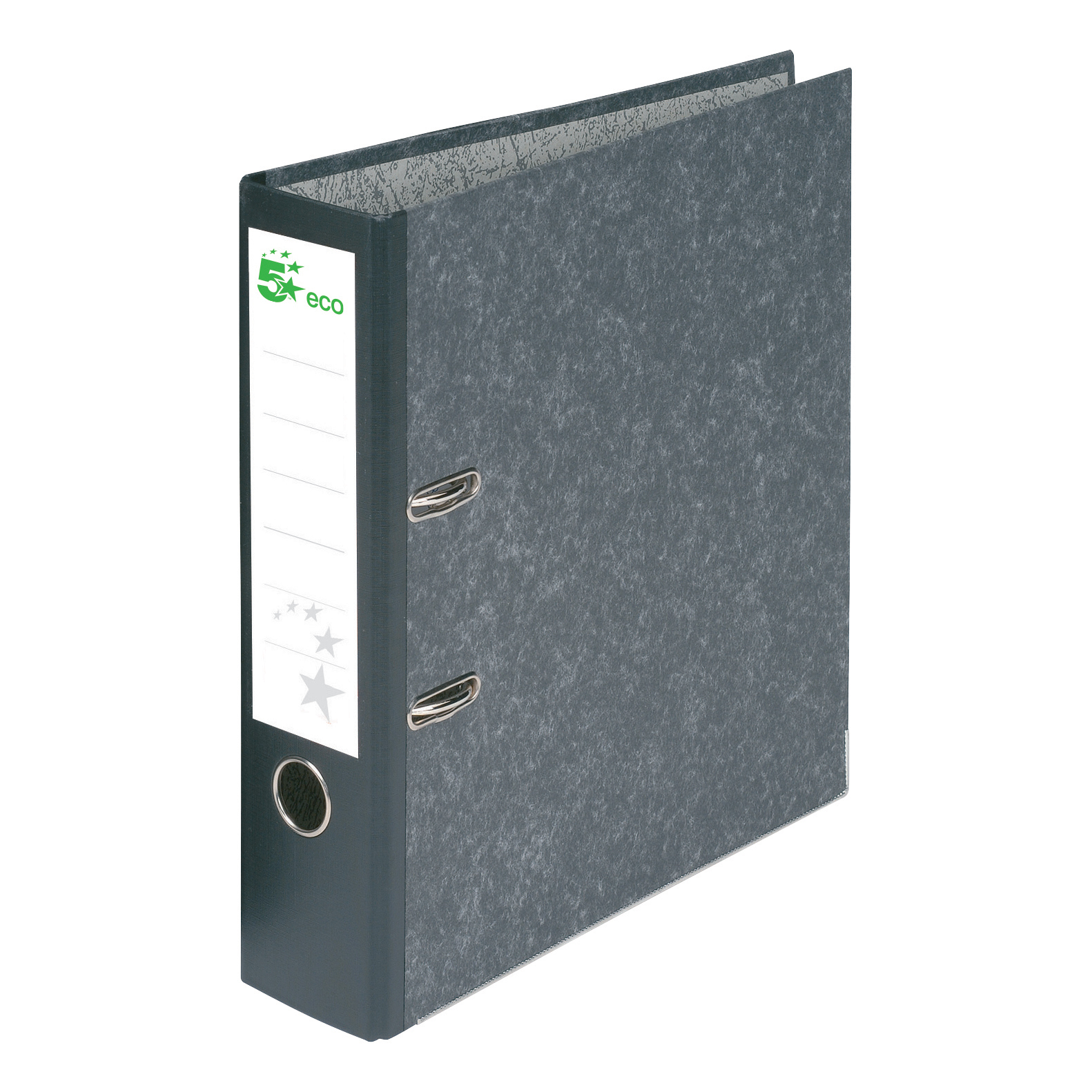 Image for 5 Star Eco Lever Arch File A4 Recycled Cloud