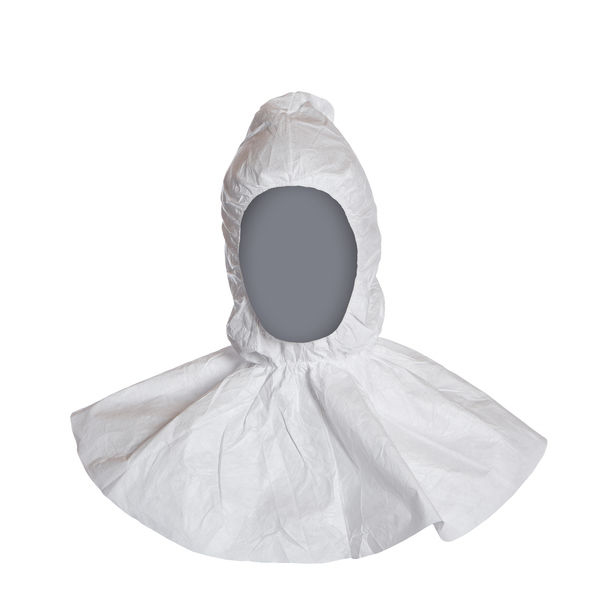 Tyvek Balaclava Hood White Ref TBH [Pack 100] Up to 3 Day Leadtime