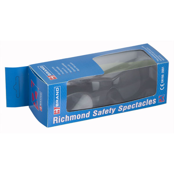 B-Brand Richmond Pre-Packaged Spectacles Smoke Ref BS095 Up to 3 Day Leadtime