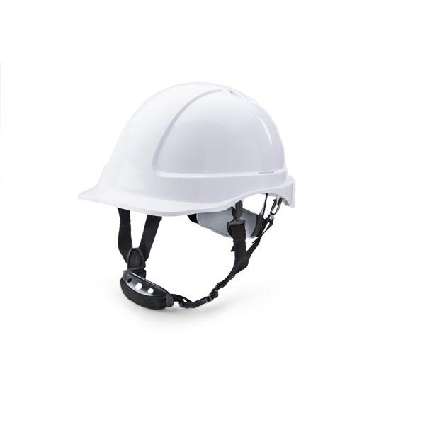 B-Brand Reduced Peak Helmet White Ref BBSHRPW Up to 3 Day Leadtime