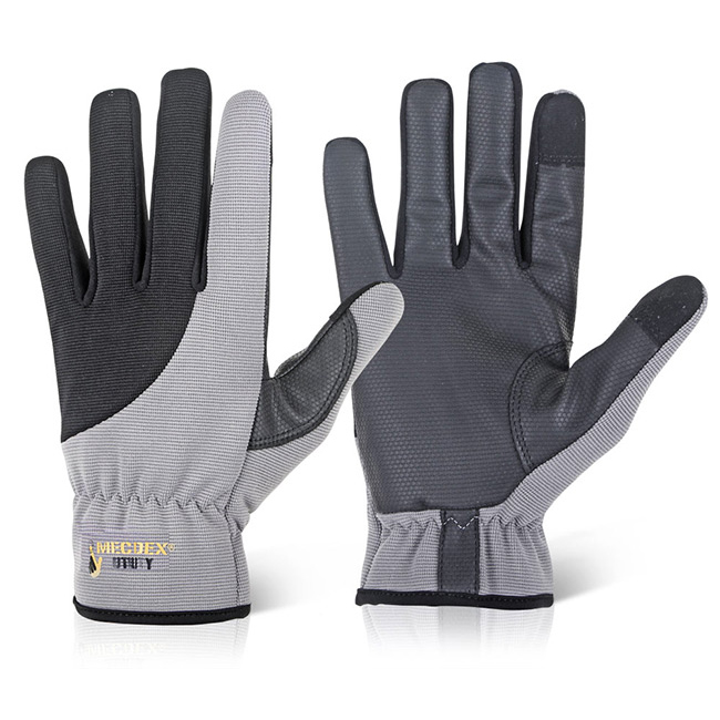 Mecdex Touch Utility Mechanics Glove M Ref MECUT-612M Up to 3 Day Leadtime