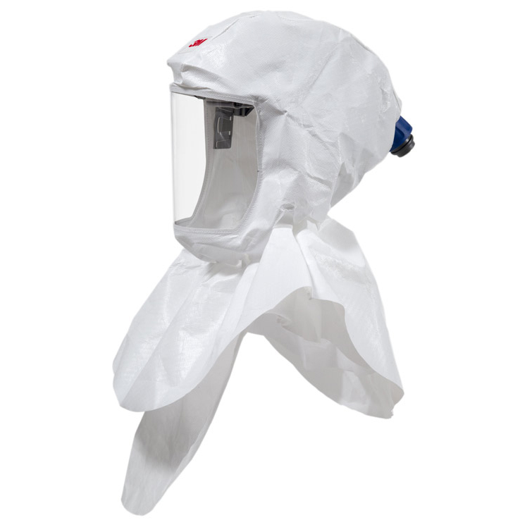 Mask or respirators filters or accessories 3M S657 Versaflo Headtop Hood Double Shroud Design White Ref 3MS657 *Up to 3 Day Leadtime*
