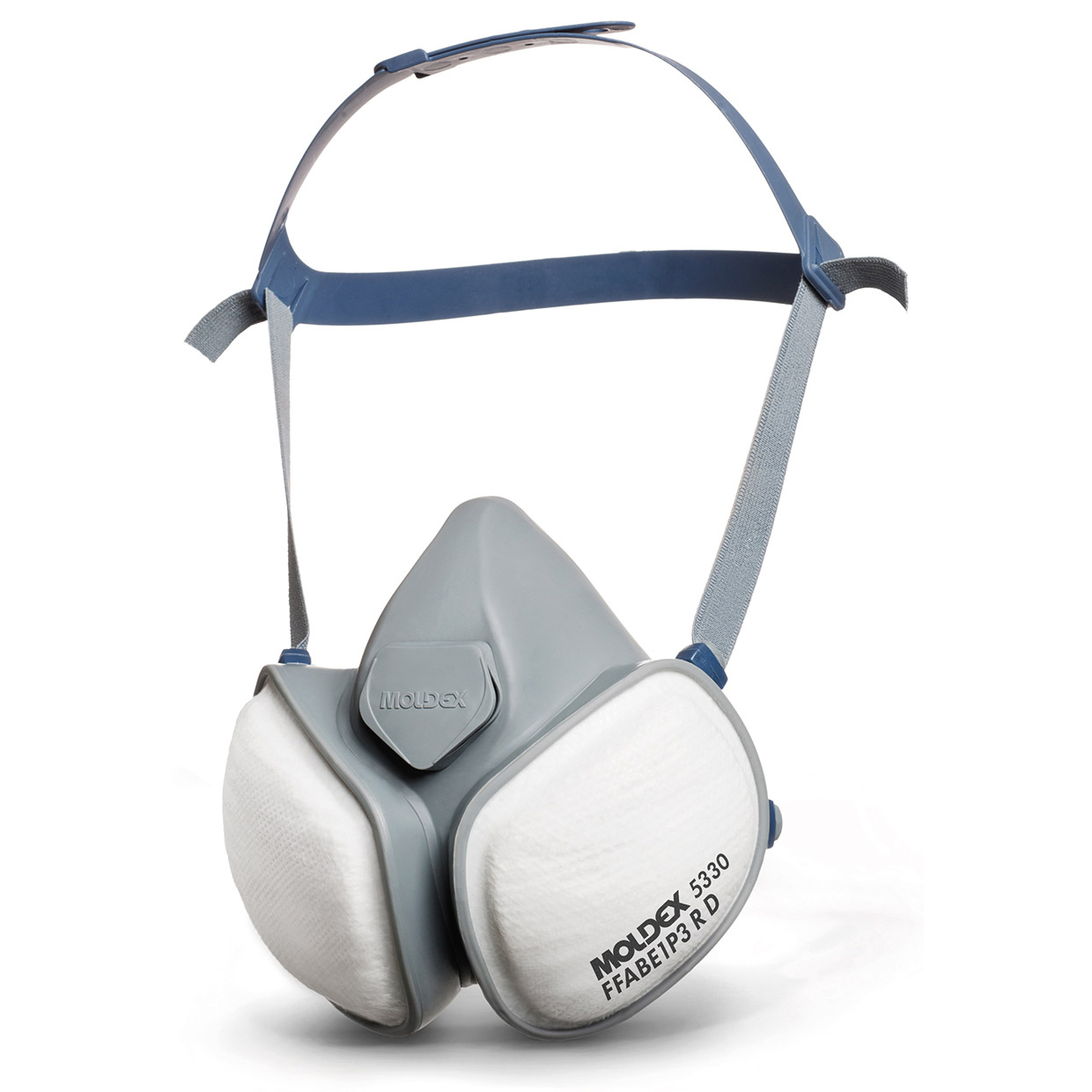 Moldex ABE1P3R Half Mask with Pleated Filter Technology Grey Ref M5330 Up to 3 Day Leadtime