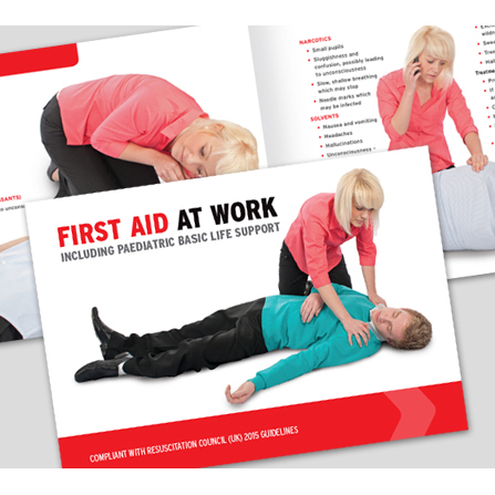 Equipment Click Medical First Aid At Work Book Ref CM1317 *Up to 3 Day Leadtime*