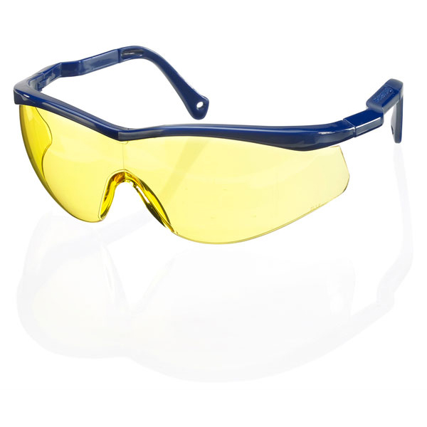 B-Brand Colorado Safety Spectacles Yellow BBCSS2Y [Pack 10] Up to 3 Day Leadtime