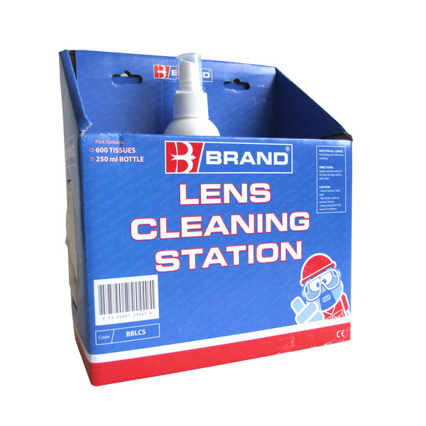 B-Brand Lens Cleaning Station Ref BBLCS *Up to 3 Day Leadtime*