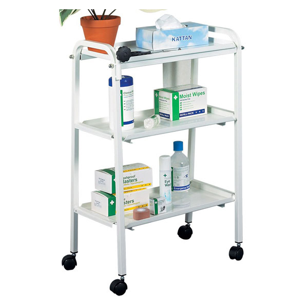 Click Medical Three Tier Trolley*Up to 3 Day Leadtime*