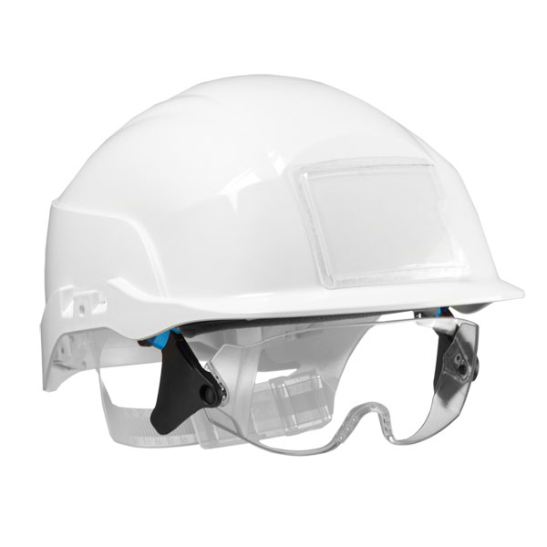 Centurion Spectrum Safety Helmet Blue with Eye Protection White Ref CNS20WA *Up to 3 Day Leadtime*
