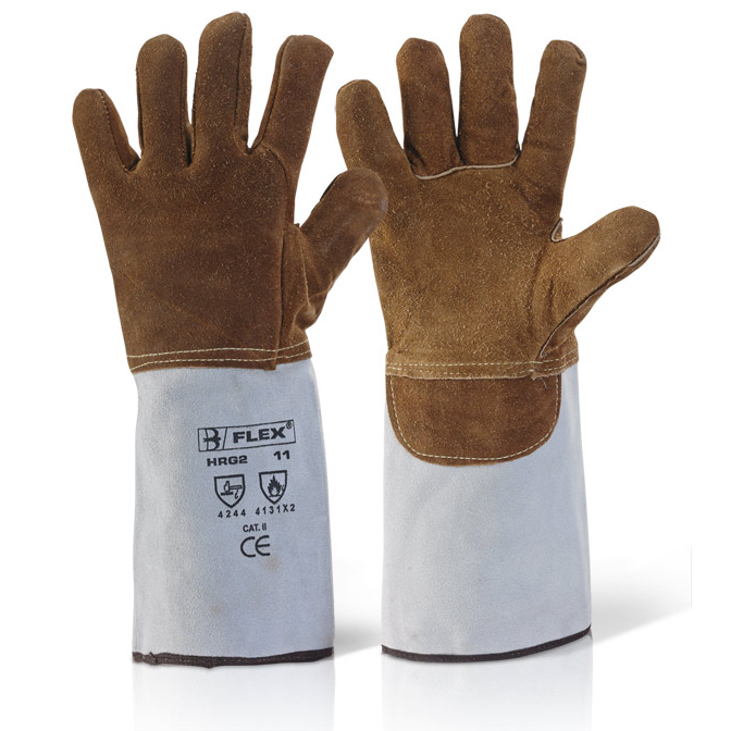 B-Flex High Quality Heat Resistant Gauntlet [Pack 5] Ref HRG2 *Up to 3 Day Leadtime*