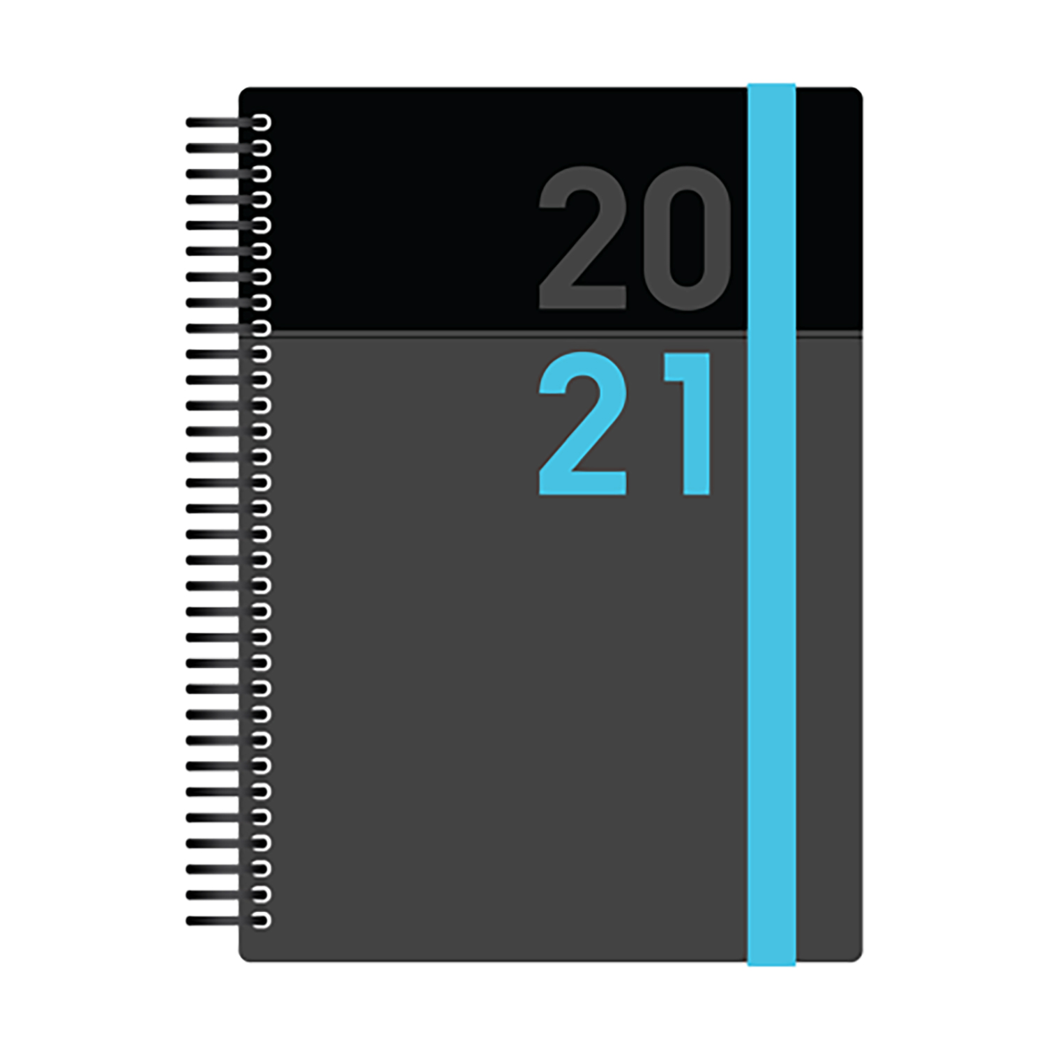 Collins 2020/21 Academic Diary Day-to-Page A5 Blue Ref FP51M.60-2021
