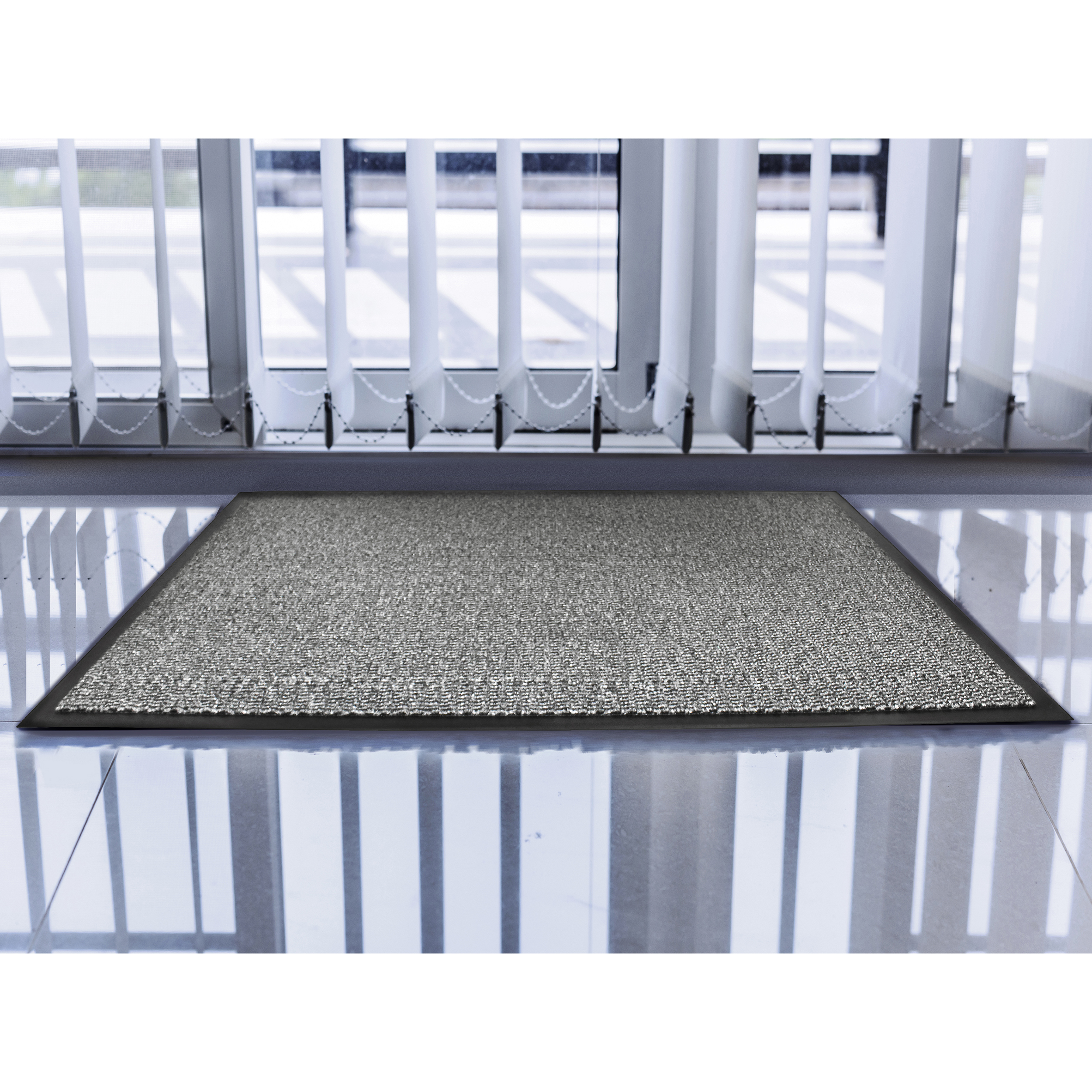 Indoor Doortex Advantagemat Door Mat for Dust & Moisture Polypropylene 900x1500mm Anthracite Ref FC49150DCBWV