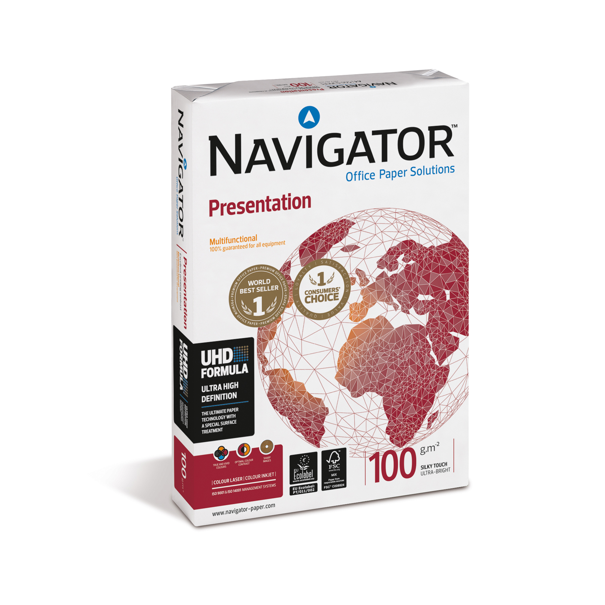 Navigator Presentation Paper Ream-Wrapped 100gsm A4 Wht Ref NPR1000032 [500 Shts][REDEMPTION] Apr-June 20