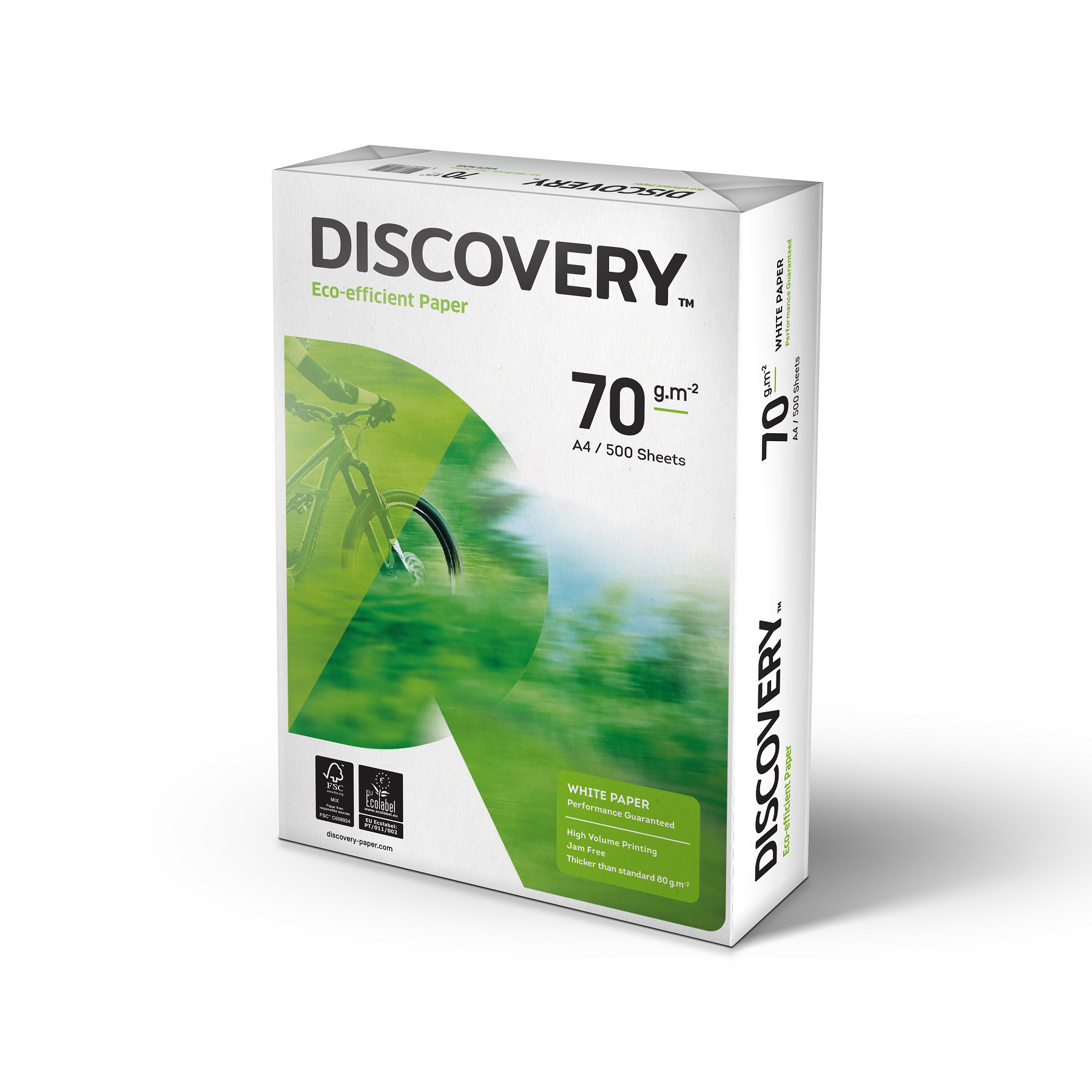 Discovery Everyday Paper FSC 5x Ream-wrapped Pks 70gsm A4 White Ref NDI0700025 5x500 Sheets