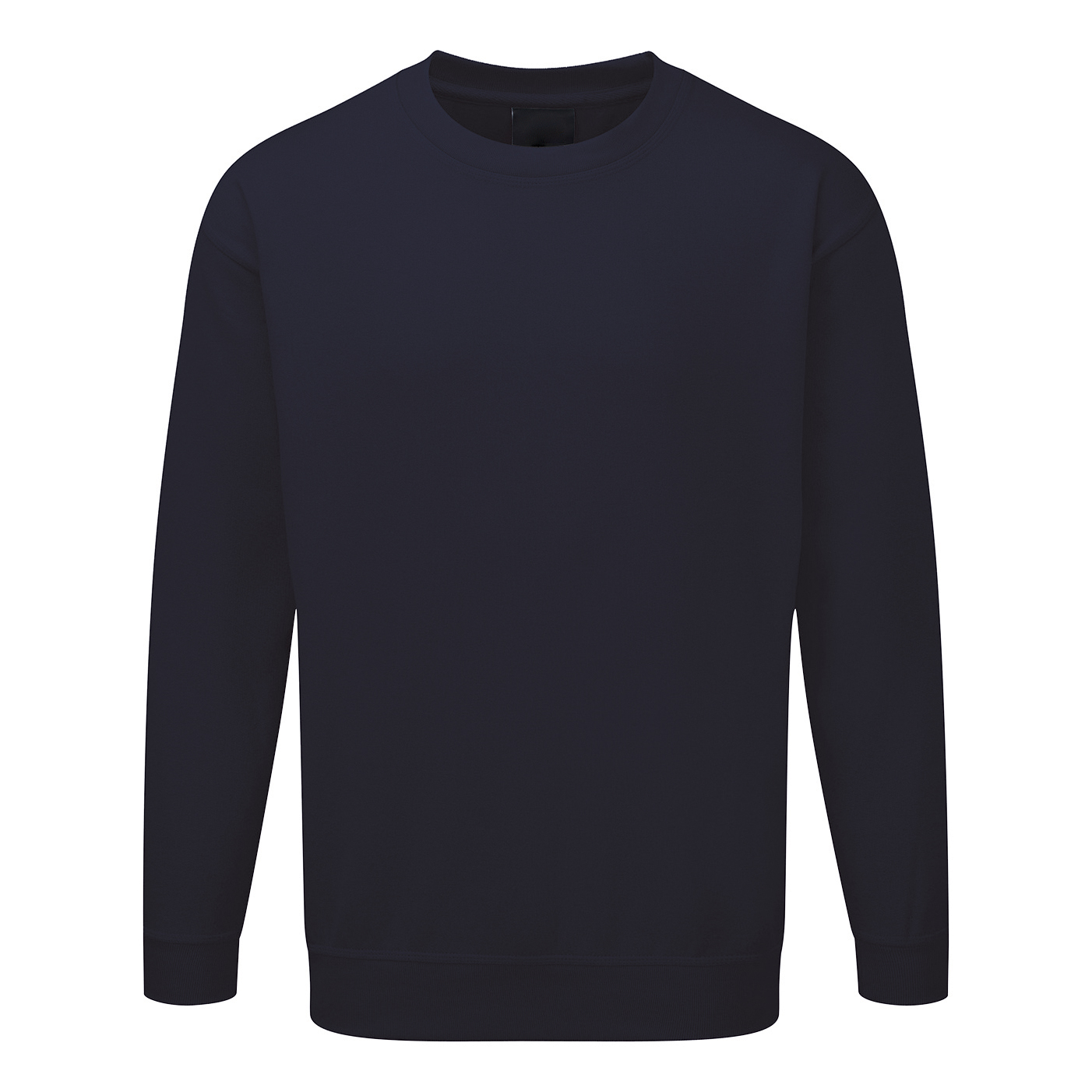 Sweatshirt Polyester/Cotton Fabric with Crew Neck XXXXLarge Navy 1-3 Days Lead Time