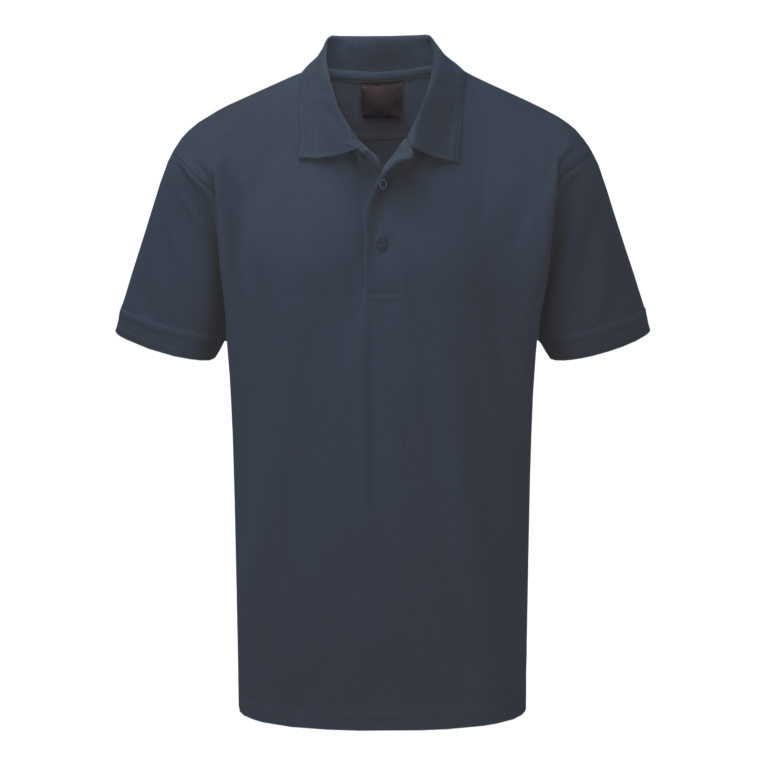 Premium Polo Shirt Triple Button 220gsm Polycotton Medium Graphite Ref CLPKSGYM *Approx 3 Day Leadtime*