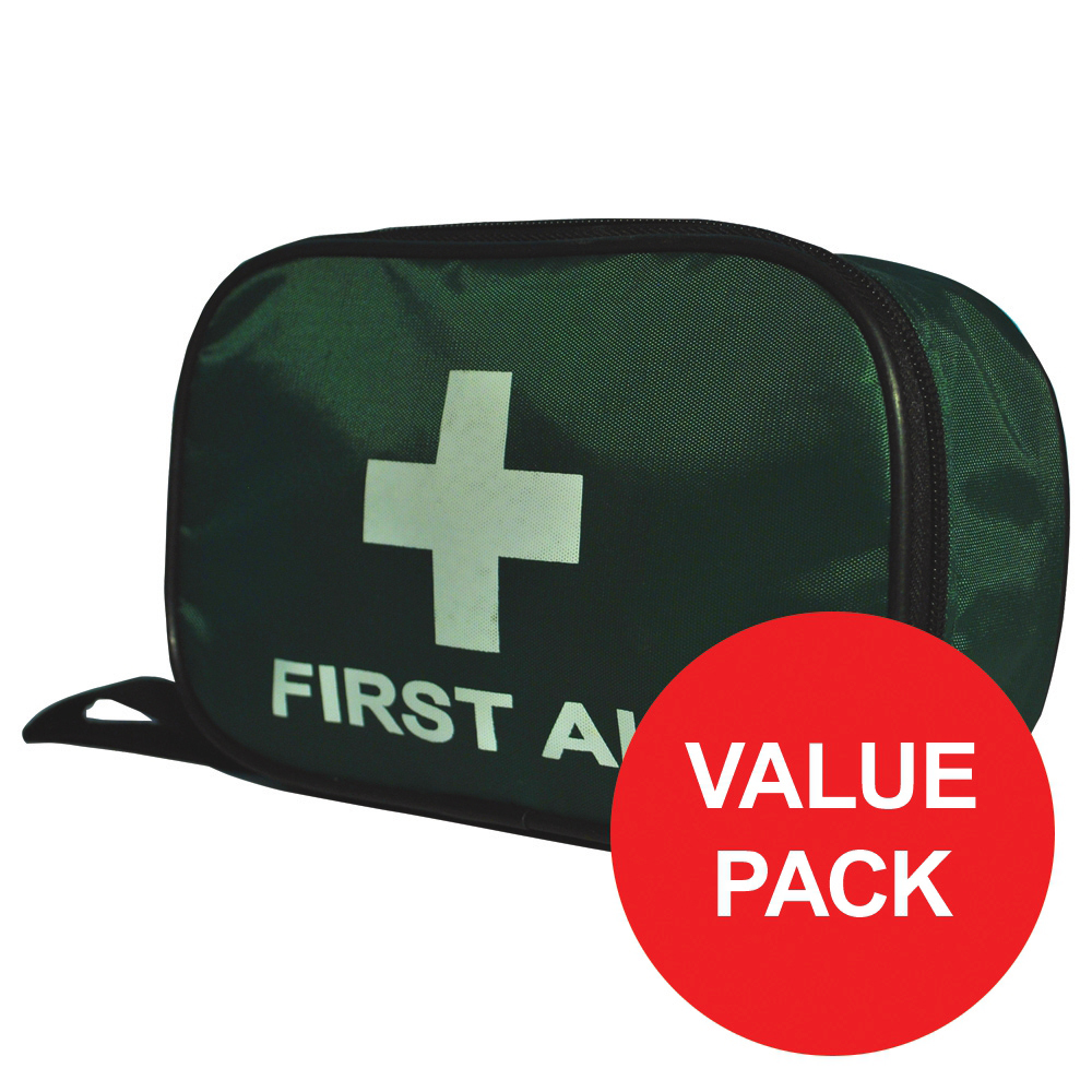 First aid kit Wallace Cameron BS 8599-2 Compliant First Aid Travel Kit Medium Ref 1020209
