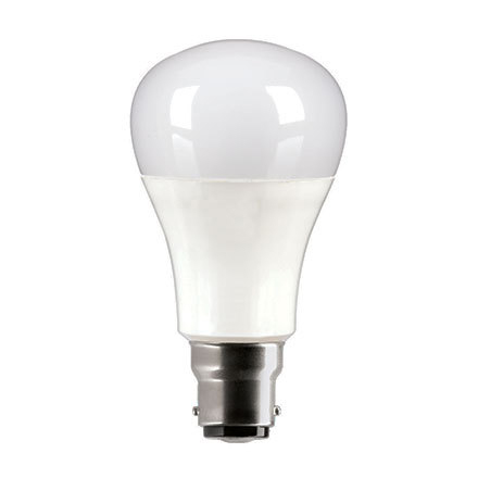 GE Bulb LED B22 Start ECO Snowcone 10W 60W Equivalent EEC A+ Non Dimmable Bayonet Frost Ref 93063993