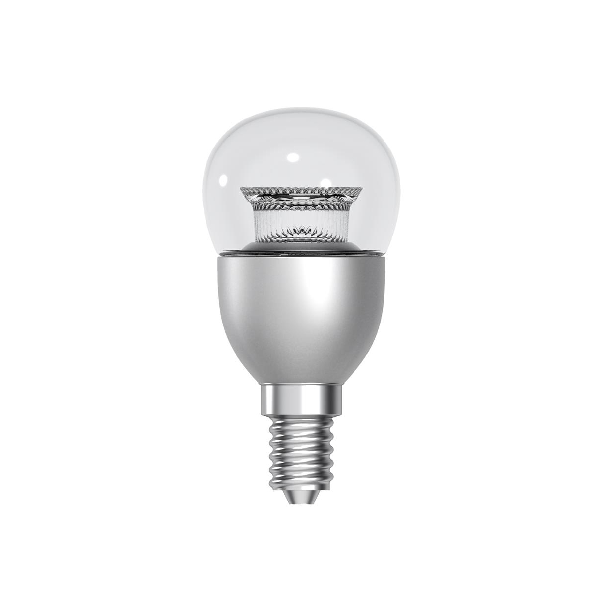 Tungsram Bulb LED E14 Globe Crown Deco 6W 40W Equivalent EEC A+ Energy Smart Dimmable Clear Ref 9303263