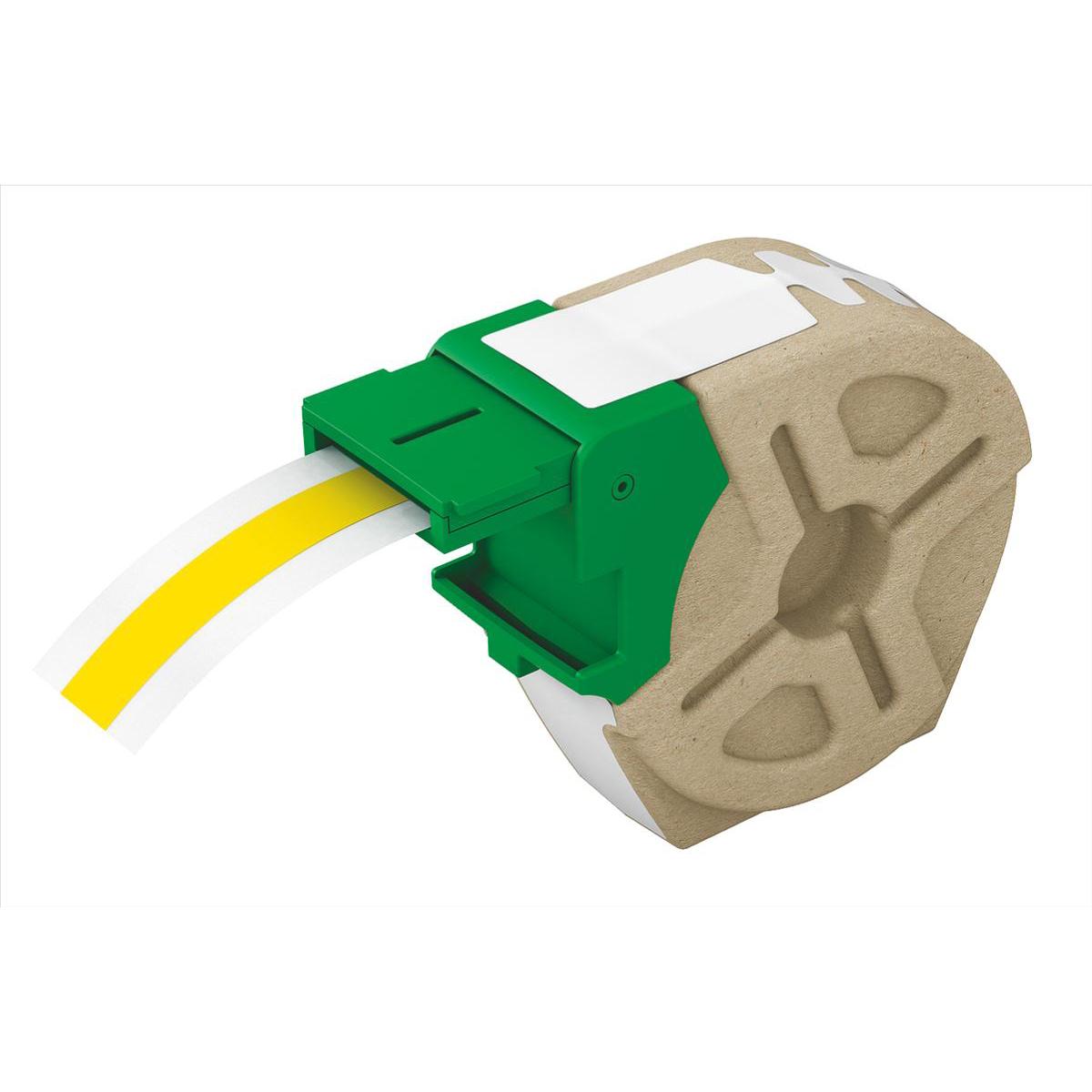 Leitz Icon Label Cartridge Permanent Plastic 12mmx10m Yellow