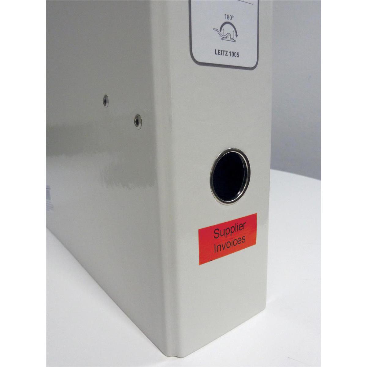 Leitz Icon Label Cartridge Permanent Plastic 88mmx10m White Ref 70160001