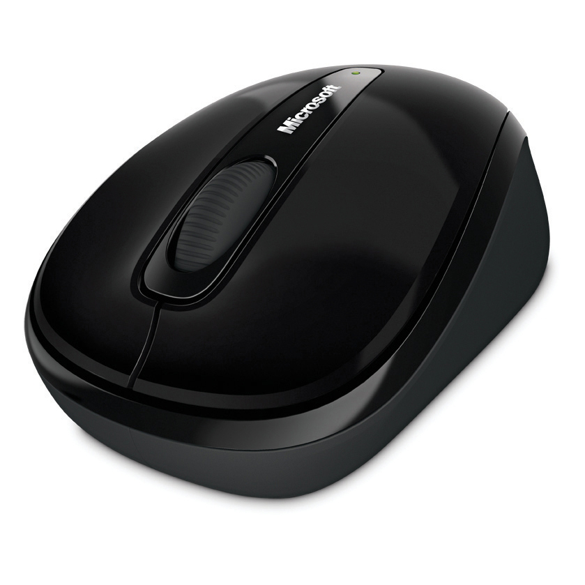 Wireless Microsoft 3500 Mobile Mouse Wireless Both Handed Black Both Handed Ref GMF-00042