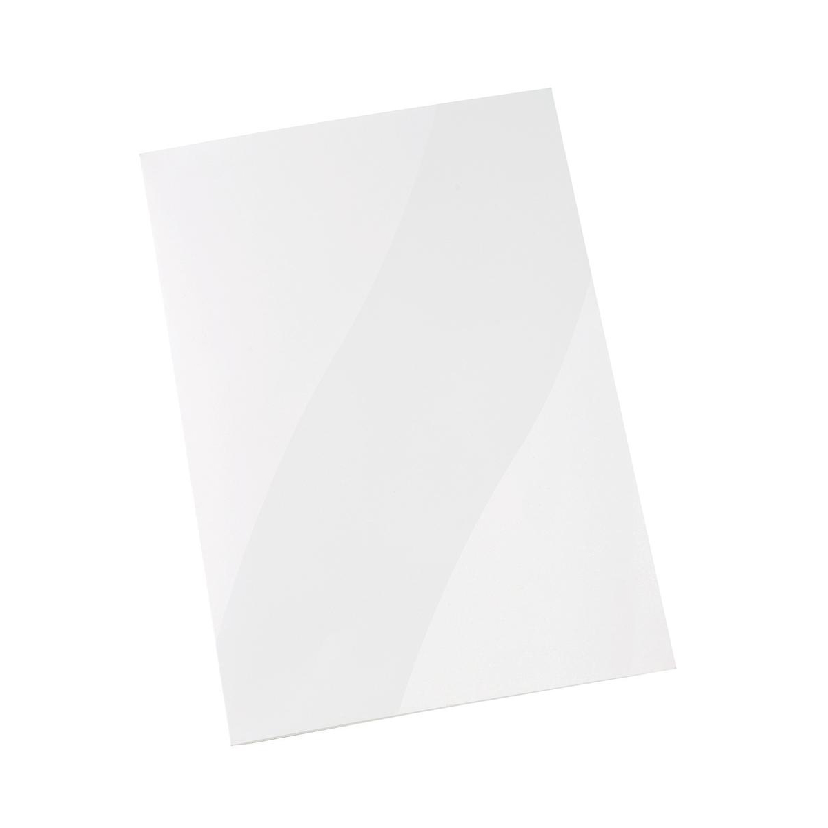 5 Star Office Corporate Presentation Folder A4 Gloss White Pack 50
