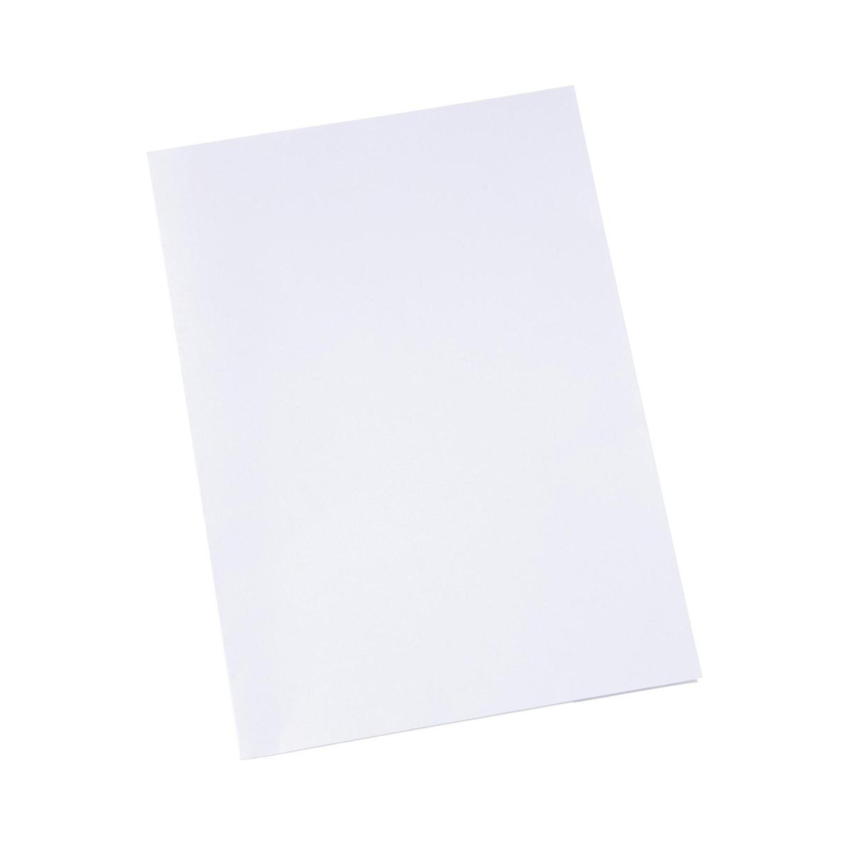 5 Star Office Corporate Presentation Folder A4 Matt White Pack 50