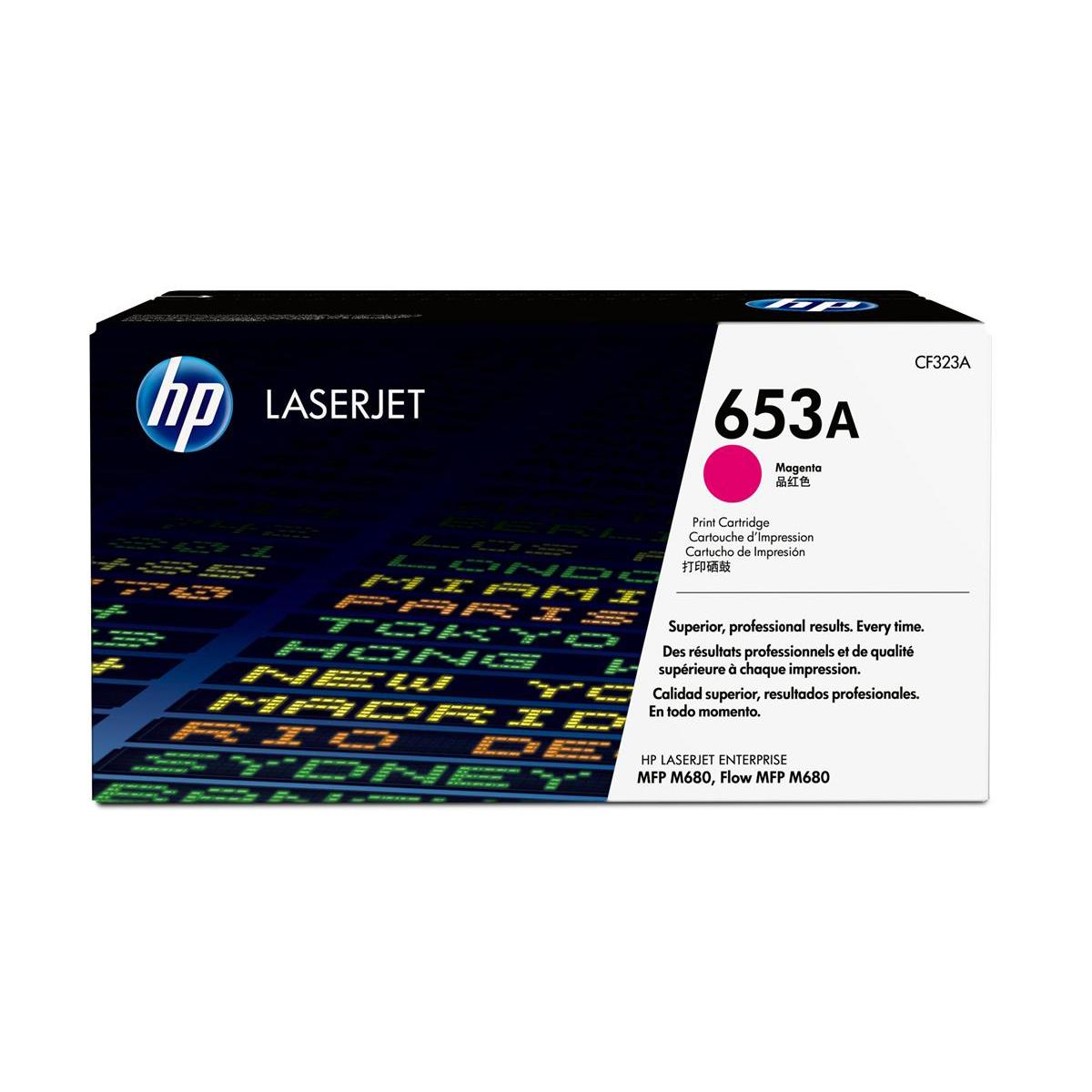HP 653A Magenta Laserjet Toner Cartridge CF323A