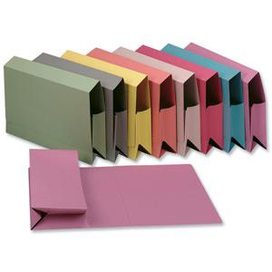 Guildhall Probate Wallets Manilla 315gsm 75mm Foolscap Pink Ref PRW2-PNKZ Pack 25