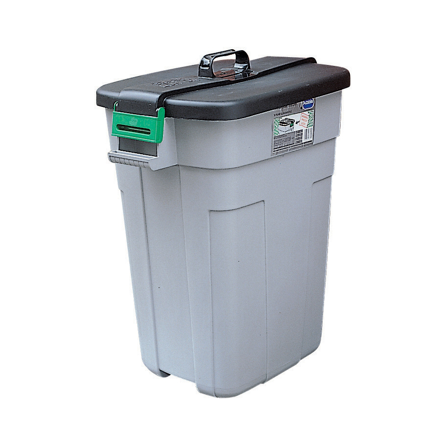 Bin containers or rigid liners Dustbin Polypropylene with Easy Grip Handle 90 Litres