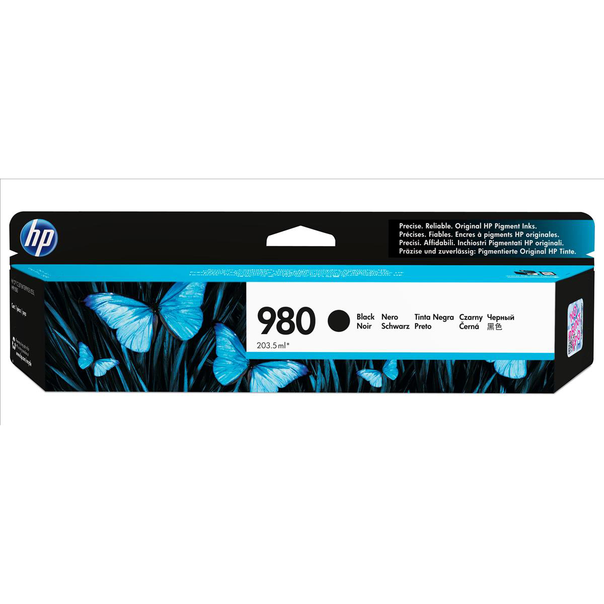 Hewlett Packard [HP] No. 980 Inkjet Cartridge Page Life 10000pp Cartridge Black Ref D8J10A
