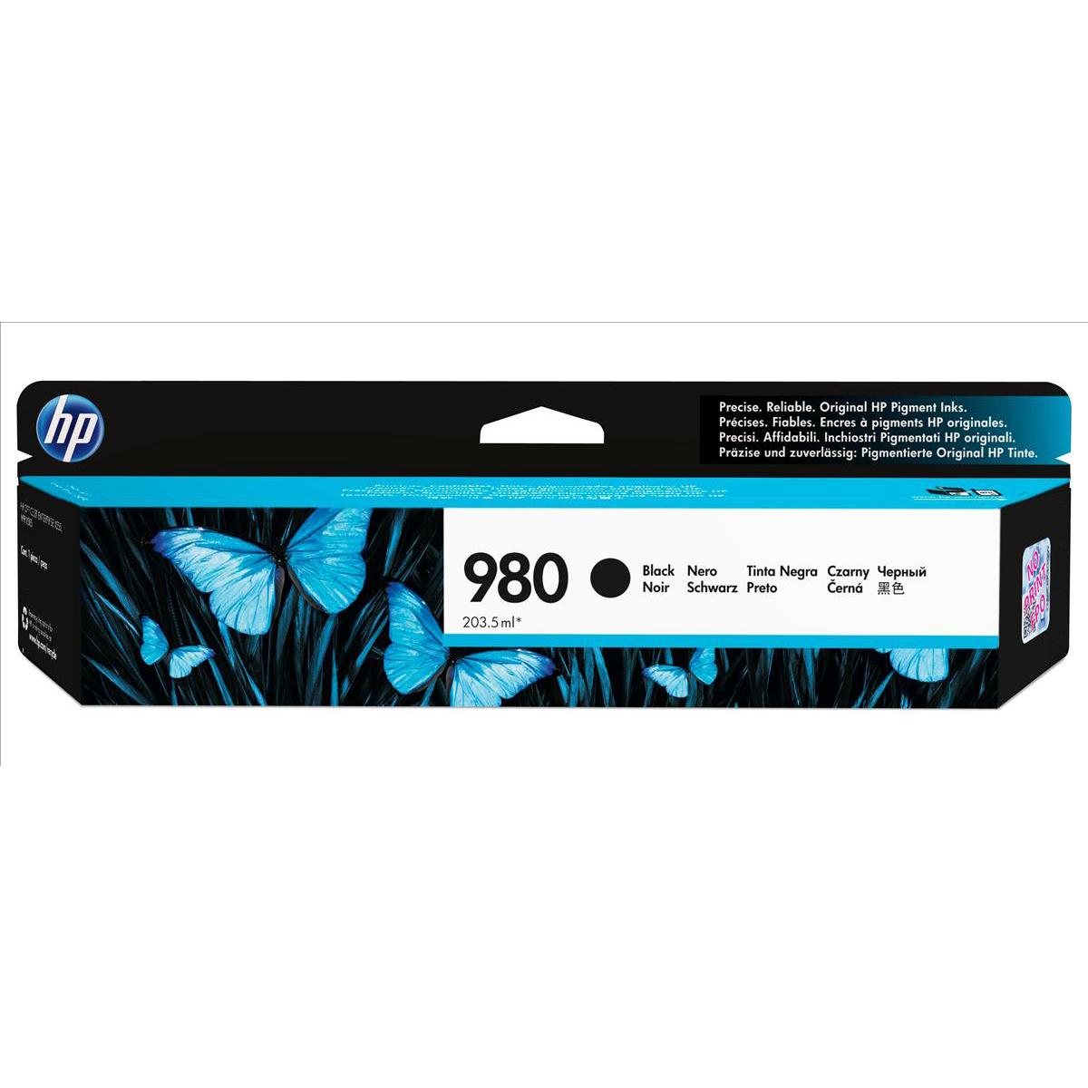 Hewlett Packard [HP] No.980 Inkjet Cartridge Page Life 10,000pp Cartridge Black Ref D8J10A