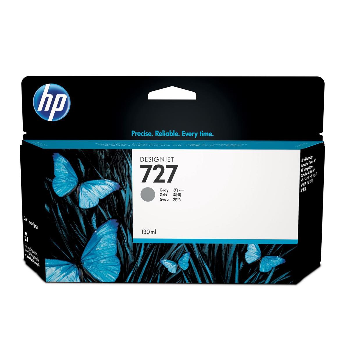 Hewlett Packard [HP] No.727 Inkjet Cartridge 130ml Grey Ref B3P24A