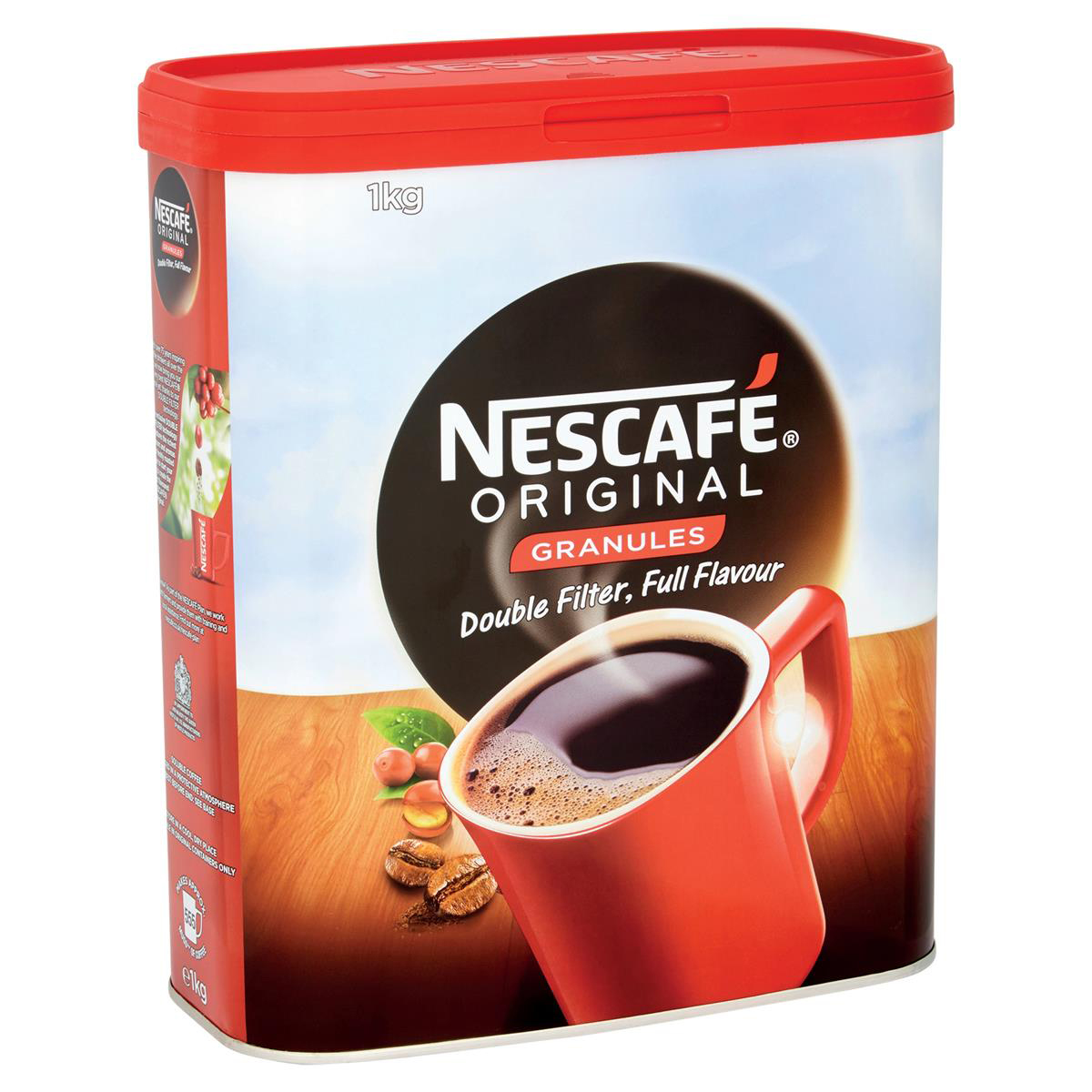 Coffee Nescafe Original Instant Coffee Granules Tin 1kg Ref 12315568